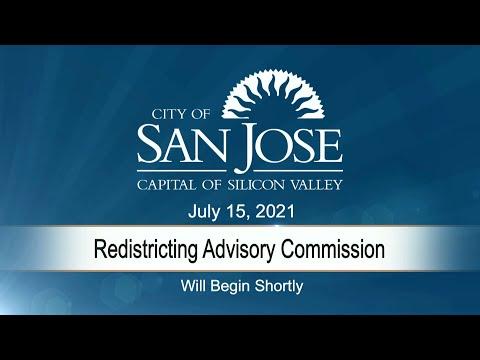 Jul 15 2021 | Redistrict Advisory Commission Meeting