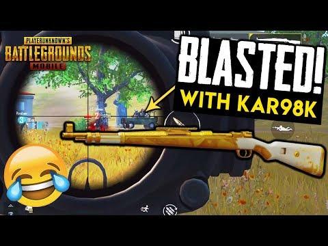 Blasted With Kar98k Squad Down Pubg Mobile 2 35 Mb Wallpaper