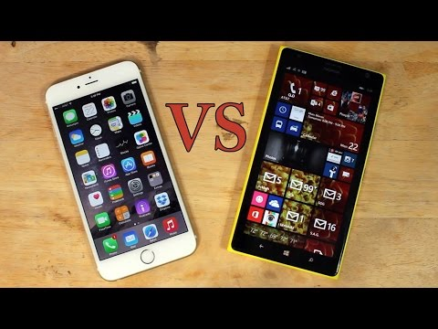 Phablet Fight: iPhone 6 Plus vs Nokia Lumia 1520