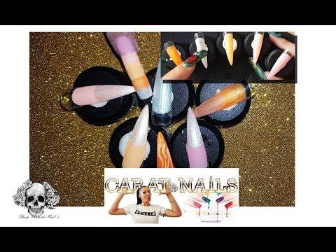 Nageldesign - Time to cocktails feeling  Sharp-fantasticnails  Carat Nails