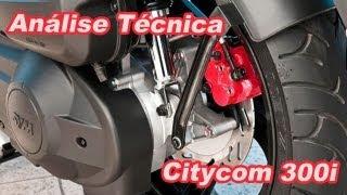 4. Análise técnica: Dafra - Sym Citycom 300i