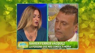 El ex de Moria Casán se empecinó con pelear con Belén Francese al aire