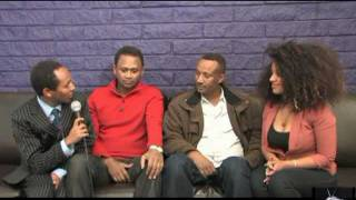 Meskerem Bekele  And Kebebew Geda (Shemsu)- Ethiopian Comedians In Seattle