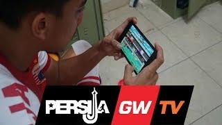 Ritual Unik Para Pemain-pemian Persija Jakarta di Ruang Ganti Sebelum Pertandingan