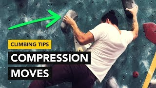 Rock Climbing Tips: Compression on large pinch holds to send this bouldering problem by  rockentry