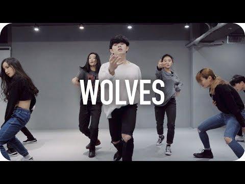 Wolves - Selena Gomez, Marshmello / Jun Liu Choreography (видео)