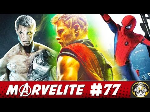 Thanos is Cable, Thor Ragnarok Trailer Hype, & more | Marvelite #77