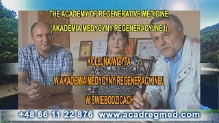 Kolejna wizyta w Akademia Medycyny Regeneracyjnej w Świebodzicach