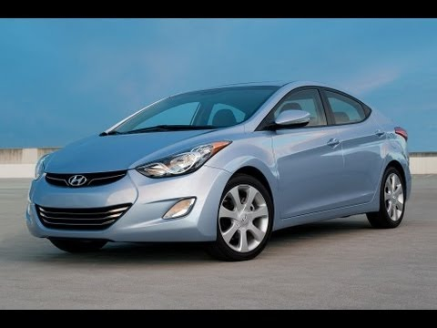 2013 Hyundai Elantra Limited Start Up and Review 1.8 L 4-Cylinder