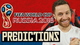 Video MY WORLD CUP PREDICTIONS! - RUSSIA 2018 MP3, 3GP, MP4, WEBM, AVI, FLV Juni 2018