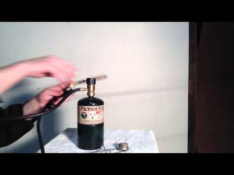 how to choose torches - A great video that shows you about the basics of propane torches for sweating pipes.