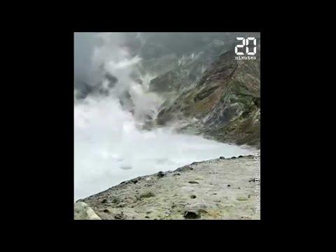 Nouvelle-Zélande : L'éruption d'un volcan fait au moins cinq morts