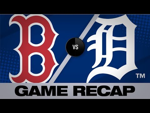 Video: Benintendi, Betts power Red Sox to 10-6 win | Red Sox-Tigers Game Highlights 7/6/19