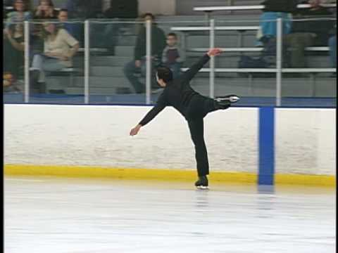 Brian Kim Skating at Iceoplex in Escondido