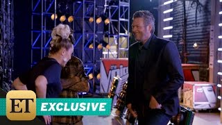 Download Lagu EXCLUSIVE: Miley Cyrus Challenges Blake Shelton to Dance in 'The Voice' Bloopers Mp3