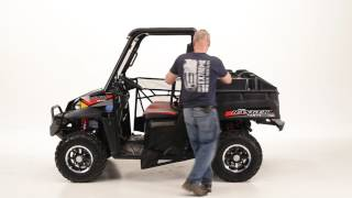 5. Mid-Size Polaris Ranger Windshied, Ranger Top, and othe accessories.