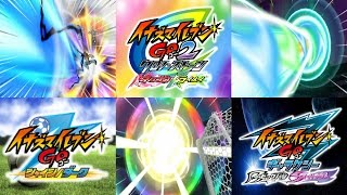 Inazuma Eleven GO Series - All 324 Hissatsu Techniques (All Fully Evolved)