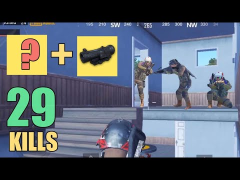 THIS WEAPON + 6X SCOPE IS OP | 29 KILLS | SOLO SQUAD | PUBG WEAPON