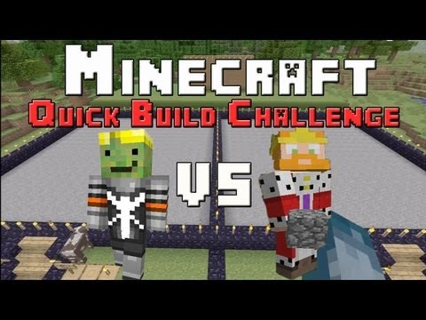 Minecraft Xbox - Quick Build Challenge - Animals
