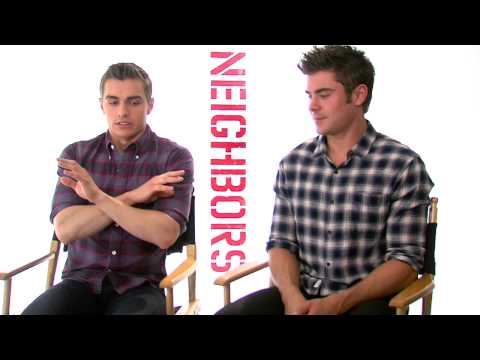 Neighbors: Zach Efron & Dave Franco Official Movie Interview