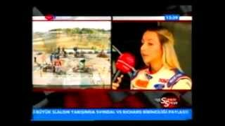 Burcu Burkut Erenkul - TRT Haber - Süper Spor - 2010