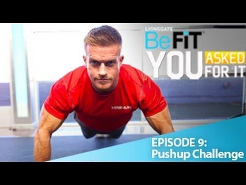 CrossFit vs. Bodybuilding Challenge 1: Pushups