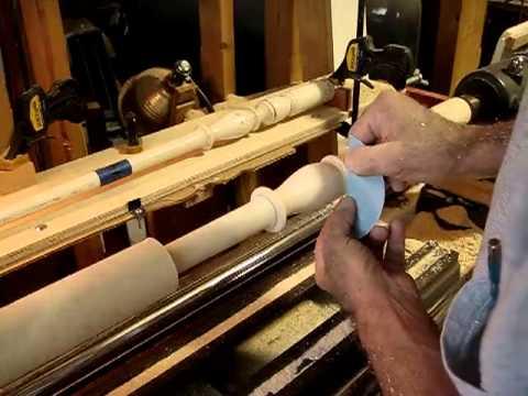 Les outils de tour de Lussault outillage : gouges à copier, outils de formes.