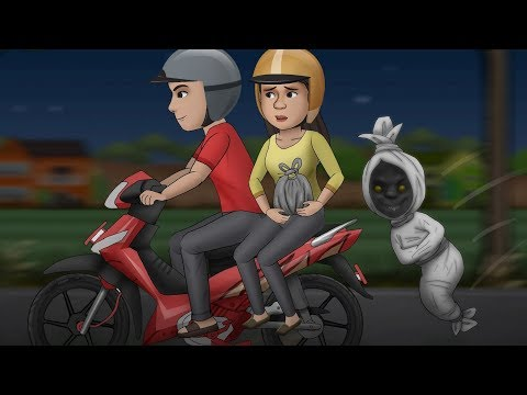 Download Video DIKEJAR POCONG CILIK - Kartun hantu, kartun lucu | Rizky Riplay