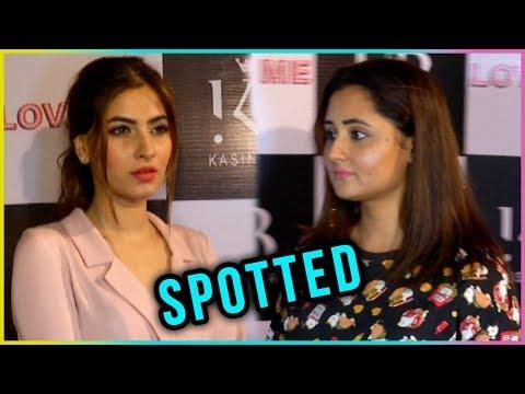 Rashmi Desai And Karishma Sharma Spotted At love M