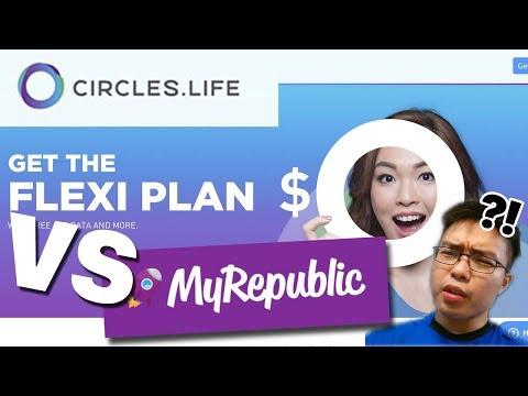 $0 MOBILE PLAN? Circles.Life Flexi Plan Review (vs MyRepublic Uno Plan)