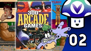 Vinny streams Cosmi Software: 300 Arcade Classics for PC live on Vinesauce! Subscribe for more Full Sauce Streams...