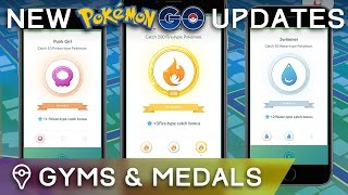 NEW POKÉMON GO UPDATES: EASIER CATCHES & GYM TRAINING by Trainer Tips