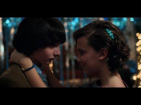 """Stranger things 2   """"Snowball dance"""" scene (HD)"""