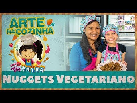 NUGGETS VEGETARIANO | Arte na Cozinha com a Tia Érika