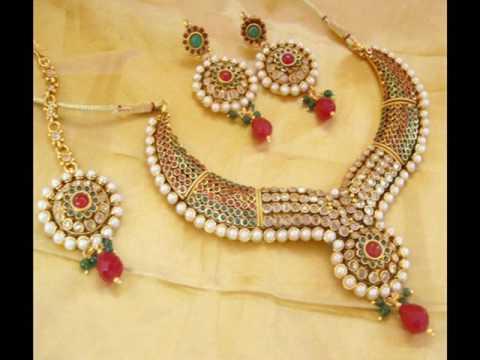 Costume jewellery online at Shree Hari-