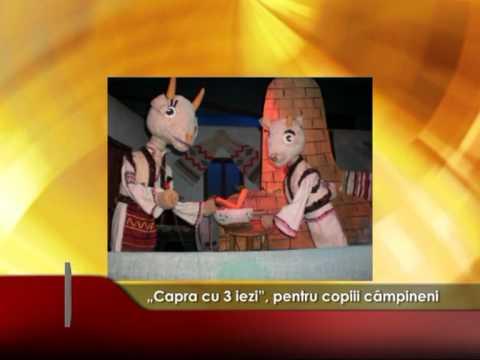 """""""Capra cu 3 iezi"""", pentru copiii câmpineni"""