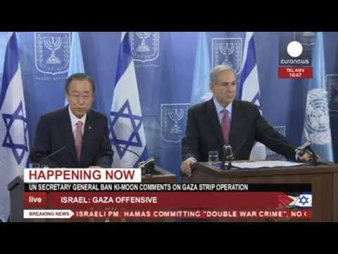 Netanyahu - Ban Ki-Moon and Netanyahu are expected to give a statement in Jerusalem What is in the news today? Click to watch: https://www.youtube.com/playlist?list=PLSyY1udCyYqBeLGPTLVZMp8kczDH7_5Ni...