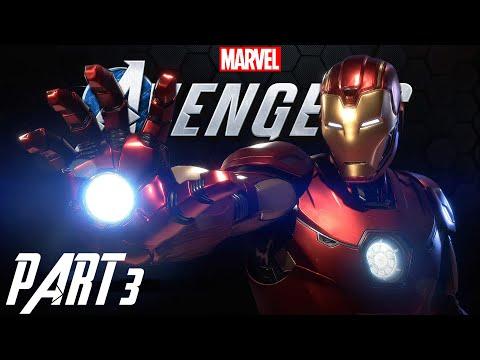 Marvel's Avengers Walkthrough Gameplay Part 3 | Secure The Asset | Urdu/Hindi