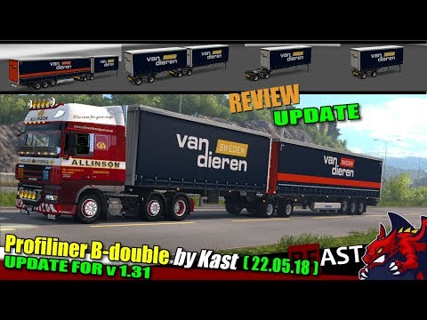 Profiliner B-double v1.1 by Kast [1.31.x]