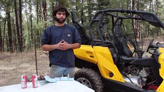 6. UTV Maintenance: Oil Change Can-Am Commander 1000
