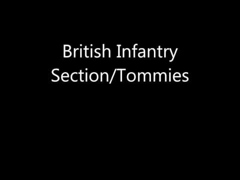 Company of Heroes 2 Voices: British Tommies
