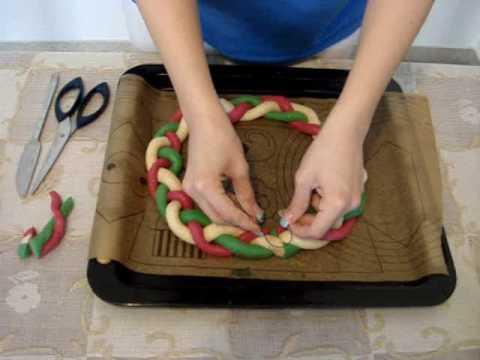 Ghirlanda Pasta di sale, concorso Passioni ClioMakeUp