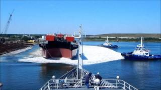 Video Launch of Barge B. No. 270 for Bouchard Transportation - VT Halter Marine MP3, 3GP, MP4, WEBM, AVI, FLV Desember 2018