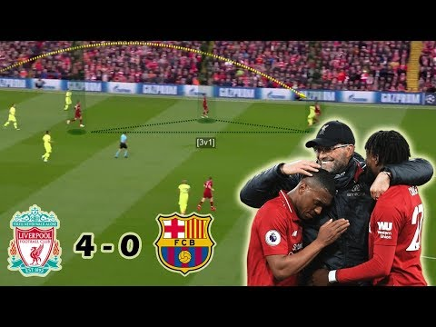 Liverpool Make History By Destroying Barcelona | Liverpool Vs Barcelona 4-0 | Tactical Analysis