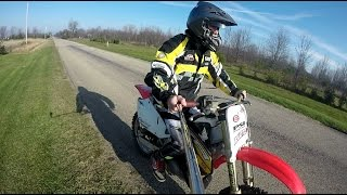 1. Honda Cr 250 Top Speed Test!!!