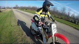2. Honda Cr 250 Top Speed Test!!!