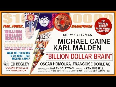 Billion Dollar Brain (1967) Trailer - Color / 2:28 mins