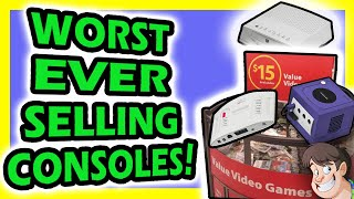 Please consider supporting my videos through Patreon: https://www.patreon.com/LarryThere's been many Worst Consoles and Worst Selling Console lists on the internet over the years,  but bizarrely not one of them has ever put them in actual sales numbers (in fact, many consoles on this list have NEVER been mentioned before).   So this episode I finally put to rest what truly are the worst selling consoles of all time!Subscribe: http://www.youtube.com/subscription_center?add_user=LarryBundyJrTwitter: https://twitter.com/LarryBundyJrFacebook: https://www.facebook.com/groups/28124030222/Tumblr: http://gurularry.tumblr.com/Twitch.TV: http://www.twitch.tv/gurularryBig thanks to Kim Justice for helping edit this video with me: https://www.youtube.com/user/elmyrdehoryAnd Kieren Hawken fro Retro Gamer Magazine for helping with research for this episode:https://www.youtube.com/user/LairdOfForsythMore Fact Hunt Episodes:♒♒♒♒♒♒♒♒♒♒♒♒ ▶ 4 Games Cancelled for Stupid Reasons:http://goo.gl/15lKhT ▶ 4 Shitty Patents that Ruined Gaming:http://goo.gl/95Ia67 ▶ 5 Game Consoles Literally Rotting Away:http://goo.gl/9SZBYR ▶ 5 Purposely Broken, Unbeatable Games by Dickish Developers:http://goo.gl/u8BGvY ▶  5 Mascots Cancelled by Incredibly Messed Up Reasons:▶ 5 Suspicious Review Scores with Insane Backlashes:https://goo.gl/3CO2g5 ▶ The Rise and Fall of 3 YouTube Gaming Channels:http://goo.gl/sw3NYv   ▶ Top 5 Offensive Passcodes:http://goo.gl/srHAh9  ▶ 4 Times Shigeru Miyamoto was an Asshole:https://goo.gl/gX45aY ▶ 3 Major Gaming Scandals That Were Buried:http://goo.gl/t1vBQl ▶ Top 5 Offensive Cheat Codes:http://goo.gl/KM7hiY ▶ 5 Games You Never Knew Had Sequels:http://goo.gl/zQ5ndA ▶ 5 Insane Reasons Games were ported to the Same System Twice:http://goo.gl/T8Oe9a ▶ 5 Hilariously Idiotic Gaming Screw-Ups:http://goo.gl/7gMLbT ▶ Top 5 Stupid Things Said by Games Journalists:http://goo.gl/EbZQlU ▶ 5 Games Recalled for Shocking Reasons:http://goo.gl/1BqSA2 ▶ The Driv3rGate Scandal: The Full Stor