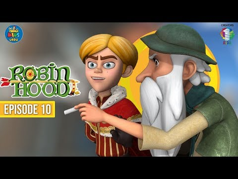Robin Hood اُردو کارٹون | Episode 10 | Lubin's Horse | Power Kids Urdu