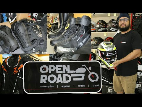 Motorcycle All Riding Gear Accessories Store In Pune | Open Road